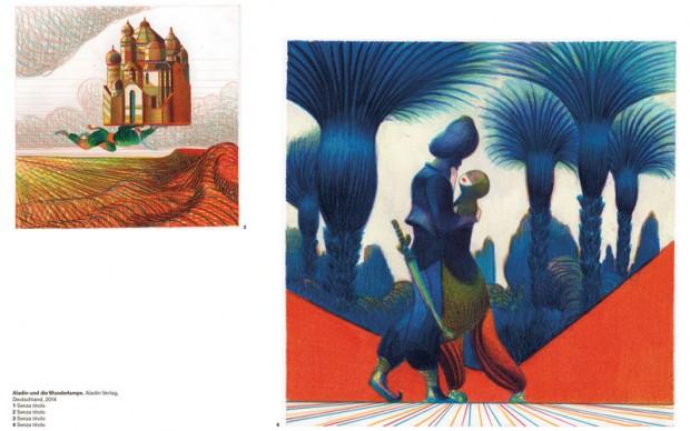 Lorenzo-Mattotti-Aladin-und-die-Wunderlampe,-Aladin-Verlag,-Deutschland,-2014