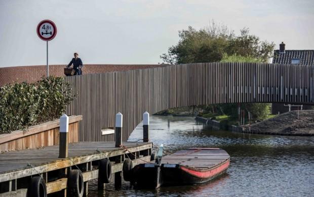 NEXT Architects Vlotwatering Bridge Olanda © Raymond Rutting