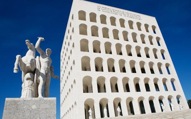 Palazzo-della-Civiltà-Italiana eur roma