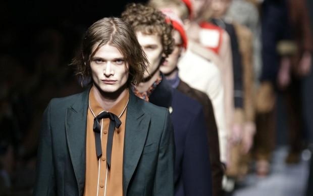 alessandro michele Gucci-collezione uomo autunno inverno 2015
