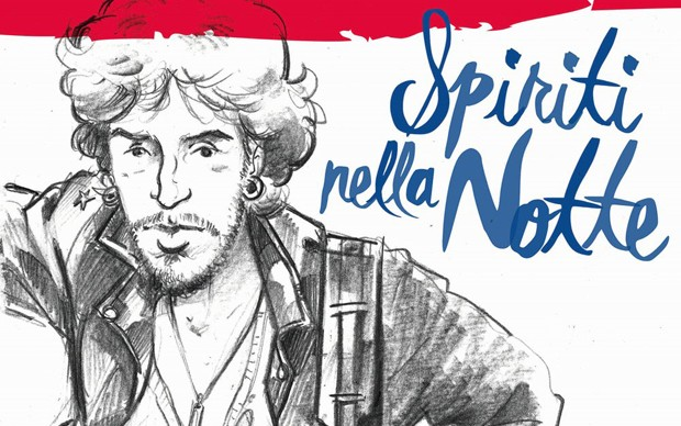 bruce-springsteen-spiriti-nella-notte-biografia-a-fumetti