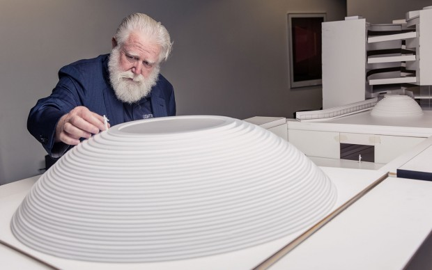 James Turrell at Aros Museum Denmark Photo by Morten Fauerby www.montgomery.dk ©2015 All rights reserved.
