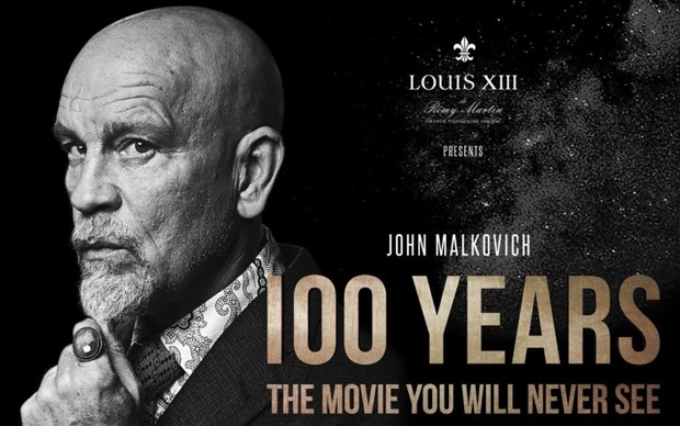 John Malcovich LOUIS XIII 100 YEARS film novembre 2115