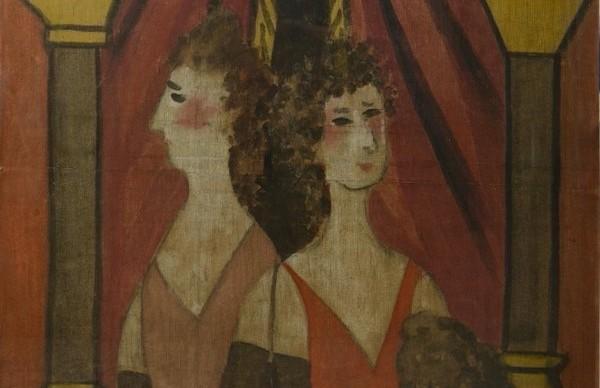 picasso la loge particolare restauro opera pinacoteca brera milano