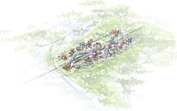 rinascimenti michelangelo architettura contemporanea mostra disegni progetti settimo torinese