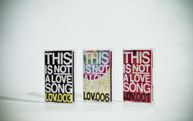 this is not a love song tinals grafica musicassetta musica indipendente