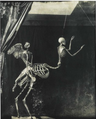 © Joel-Peter Witkin, Cupid and Centaur in the museum of love, 1992