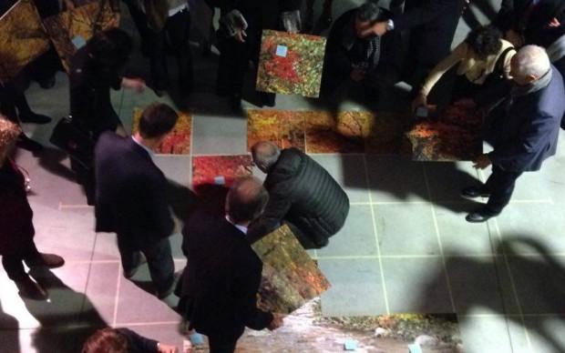 Stefano Arienti, Puzzle di puzzle, ricostruzione dell'opera presso ALT a Bergamo