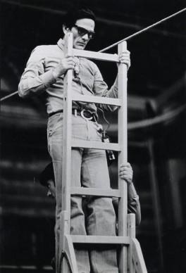 Pier Paolo Pasolini sul set di Salò o le 120 giornate di Sodoma,1975 © Deborah Beer/Cinemazero.