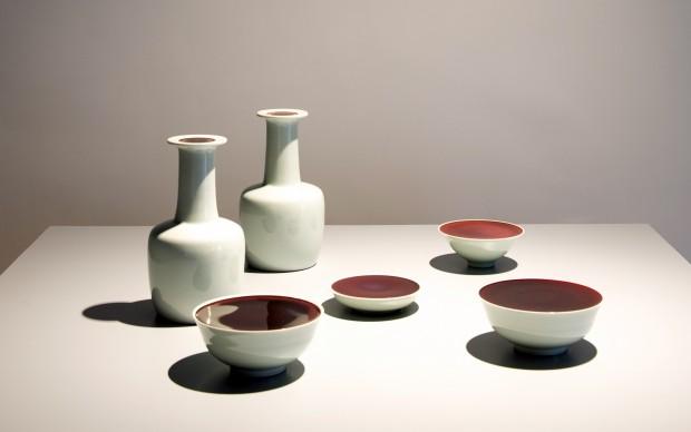 Liu Jianhua Container Series, Porcellana, Installazione, misura variabile 2014_ ph massimo camplone