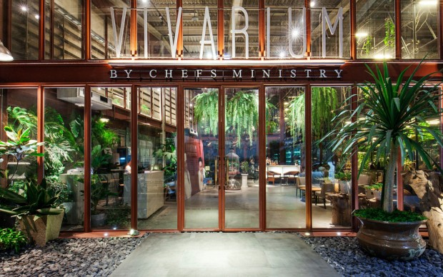 Ristorante Vivarium, Bangkok. Photo credit: Hypothesis