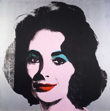 Andy Warhol, Silver Liz [Ferus Type], 1963, 101.6 x 101.6 cm, The Andy Warhol Museum, Pittsburgh; Founding Collection, Contribution The Andy Warhol Foundation for the Visual Arts, Inc. 1998.1.2866 © 2015 The Andy Warhol Foundation for the Visual Arts, Inc./ARS, New York. Licensed by Viscopy, Sydney.