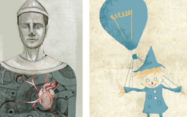 i poster di tre illustratori: progetto EmOZioni ai MagazziniOz di Torino