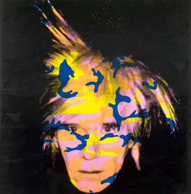 Andy Warhol, Self-Portrait No. 9, 1986, 203.5 x 203.7 cm, National Gallery of Victoria, Melbourne. Purchased through The Art Foundation of Victoria with the assistance of the National Gallery Women's Association, Governor, 1987 © 2015 The Andy Warhol Foundation for the Visual Arts, Inc./ARS, New York. Licensed by Viscopy, Sydney.
