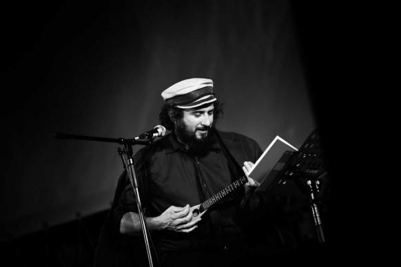 Vinicio Capossela live al 66esimo Festival del film Locarno, agosto 2013 (Photo by Vittorio Zunino Celotto/Getty Images)