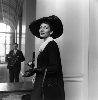Maria Callas a Londra (Photo by Weston/Getty Images)