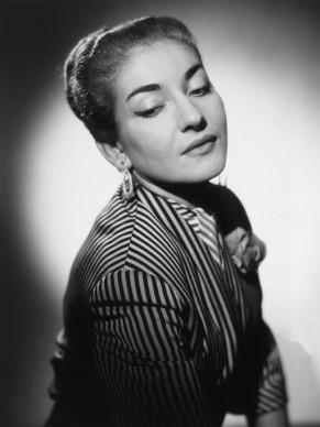 Maria Callas nel 1954 (Photo by Baron/Getty Images)