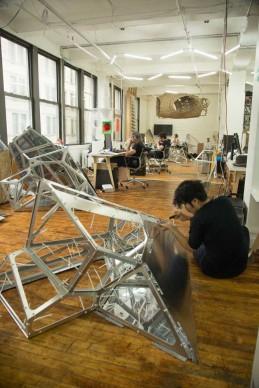SOFTlab, Nova, progetto vincitore della Flatiron Public Plaza Holiday Design Competition 2015. Photo courtesy of 3M