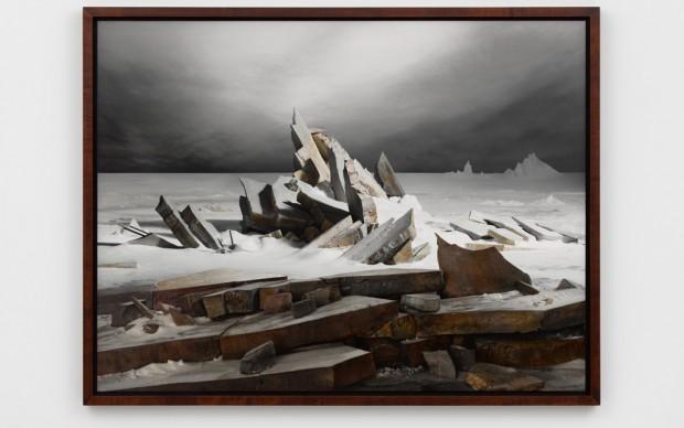James Casebere, Sea of Ice, 2014 – courtesy Lisson Gallery – photo Daniele Venturelli
