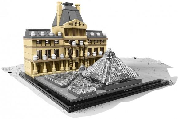 LEGO® Louvre set  Chi, almeno una volta nella vita, non si è divertito a dare sfogo alla propria immaginazione combinando i famosi mattoncini colorati? Oggi anche l'arte ha fatto il suo ingresso nel fantasioso mondo delle variopinte costruzioni amate da bambini e adulti, grazie ad un set, tutto da assemblare, con protagonista il celeberrimo Louvre parigino. Un modo divertente per stimolare l'ingegno e osservare il leggendario museo da un altro punto di vista