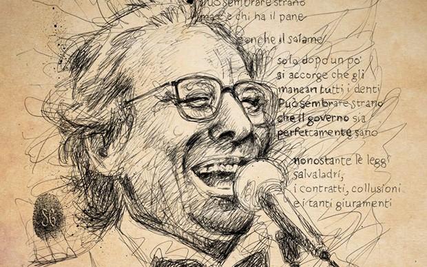 Gente d'altri tempi mostra dedicata ad Enzo Jannacci Manifesto-ufficiale-disegno-di-Sergio-Gerasi