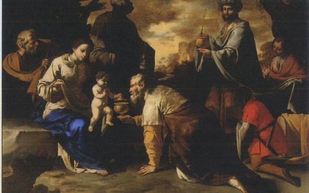 Ribera_maestro annuncio ai pastori, adorazione magi 127x180
