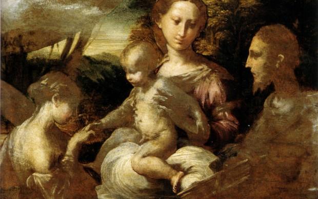 Parmigianino, Matrimonio mistico di santa Caterina