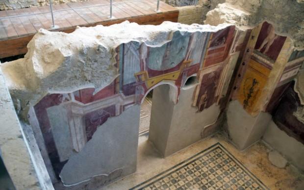 Pompei, Casa del Crioptoportico