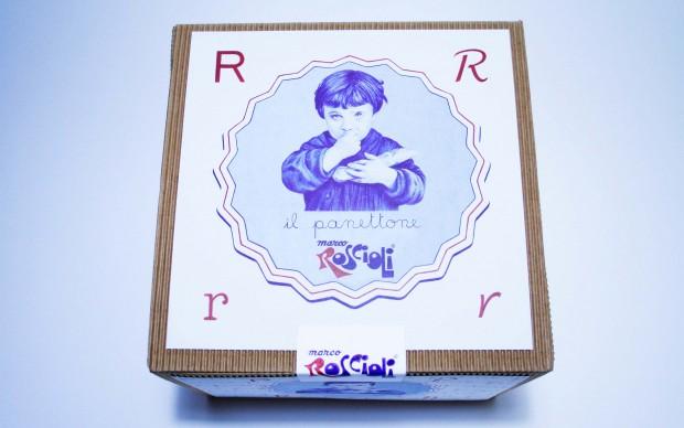 giuseppe stampone packaging panettoni antico forno Roscioli roma