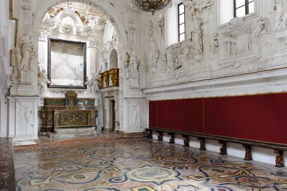 L'Oratorio della Compagnia di San Lorenzo a Palermo, privato dell'opera caravaggesca