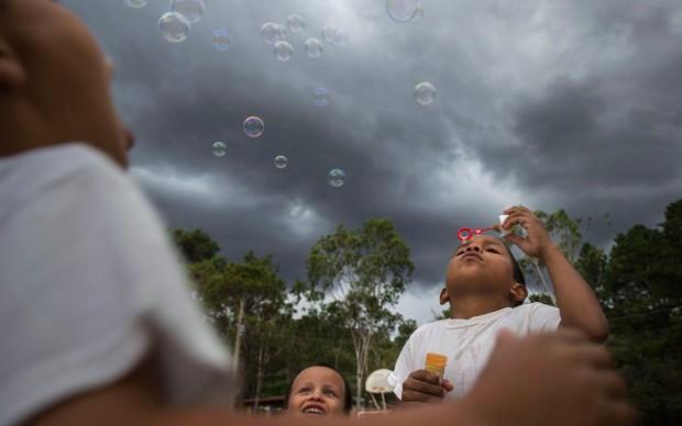 Stefano Guindani, Honduras, pubblicato nel libro fotografico Do you know? edito da Skira