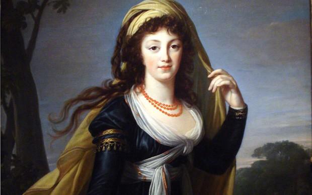 """Ritratto di Teresa, contessa Kinsky"" Louise Elisabeth Vigée Le Brun - olio su tela"