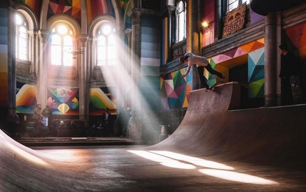 kaos temple san-miguel-la-iglesia-skate-park-chiesa-recupero-riutilizzo