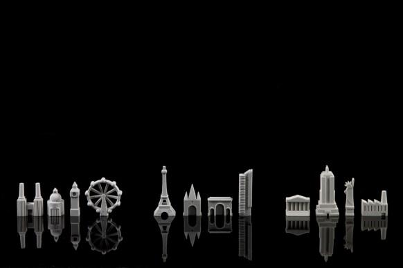 City Erasers, gomme per cancellare prodotte da Suck UK  Lo skyline di una grande metropoli, riprodotta sulla vostra scrivania: si può, grazie ai set delle gomme per cancellare City Erasers di Suck UK: ciascuna collezione riproduce i più iconici edifici e monumenti di una città, dalla Battersea Power Station di Londra alla Tour Eiffel parigina, senza dimenticare la Statua della Libertà a New York...
