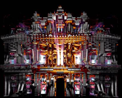 video mapping palazzo ducale genova mostra impressionisti detroit