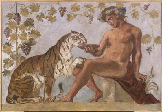 Eugène Delacroix, Fresque: Bacchus. Credit: Photo (C) RMN-Grand Palais / Michèle Bellot