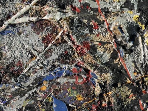 Un'opera di Jackson Pollock