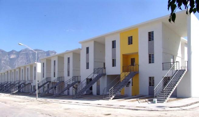 Alejandro Aravena, Monterrey Housing, 2010, Monterrey, Messico. Photo: Ramiro Ramirez