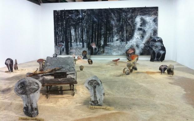 Anselm-Kiefer-veduta-della-mostra-presso-il-Centre-Pompidou-Parigi-2015-photo-Gian-Maria-Tosatti-