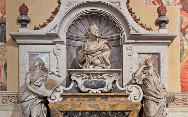 Basilica-S.-Croce_Galileo-Galilei-sepolcro-monumentale