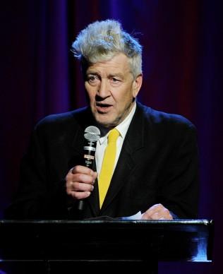 David Lynch parla al Gala della David Lynch Foundation, nel febbraio del 2014 (Photo by Kevin Winter/Getty Images)