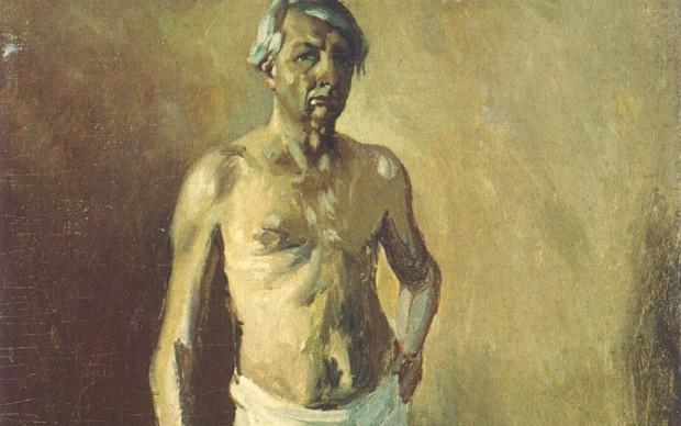 Giorgio-de-Chirico-Autoritratto-nudo-1945