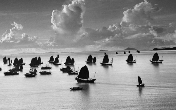 Harbour of Kowloon, Hong Kong, China, 1952 copyright Werner Bischof and Magnum Photos