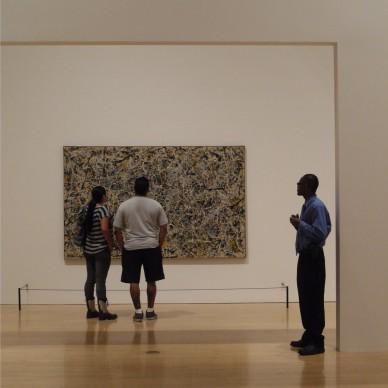Jackson Pollock, Number 1, 1949, MOCA, The Museum of Contemporary Art, Los Angeles. Photo by Detlef Schobert via Flickr