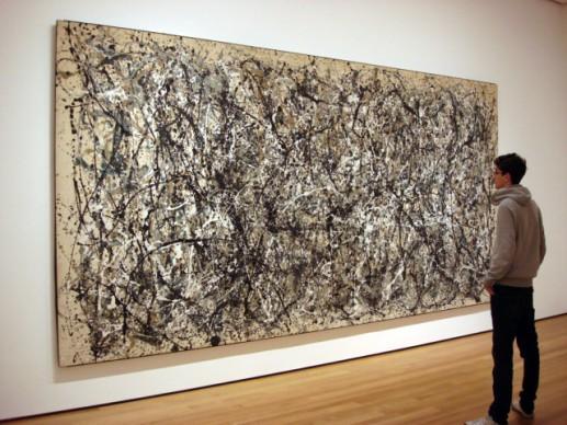 Jackson Pollock, Number 31, MoMA - New York. Photo by  Sergio Calleja via Flickr