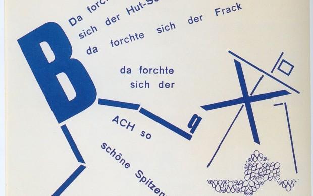 Kurt-Schwitters-sillabario Käte-Steinitz-Theo-van-Doesburg-Die-Scheuche-1925