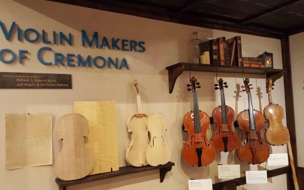 MIM mostra stradivari violin maker cremona liuteria