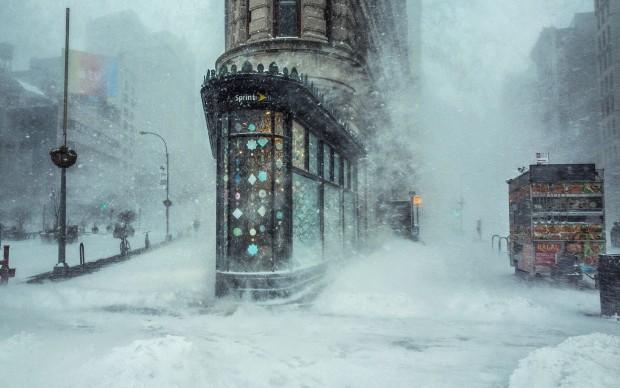 Photo © Michele Palazzo. Jonas Blizzard in New York, 2016