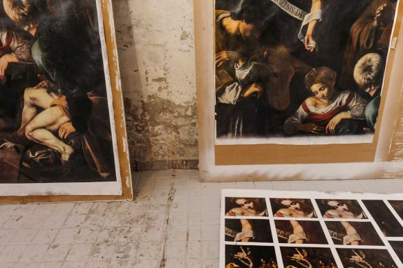 Operazione Caravaggio - Mistery of Lost Caravaggio. Photo: Alessandro Gaja per Sky Arte HD
