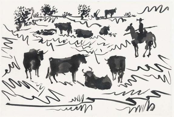 Pablo Picasso, Tauromaquia, 1959